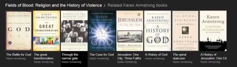 Karen Armstrong bookds