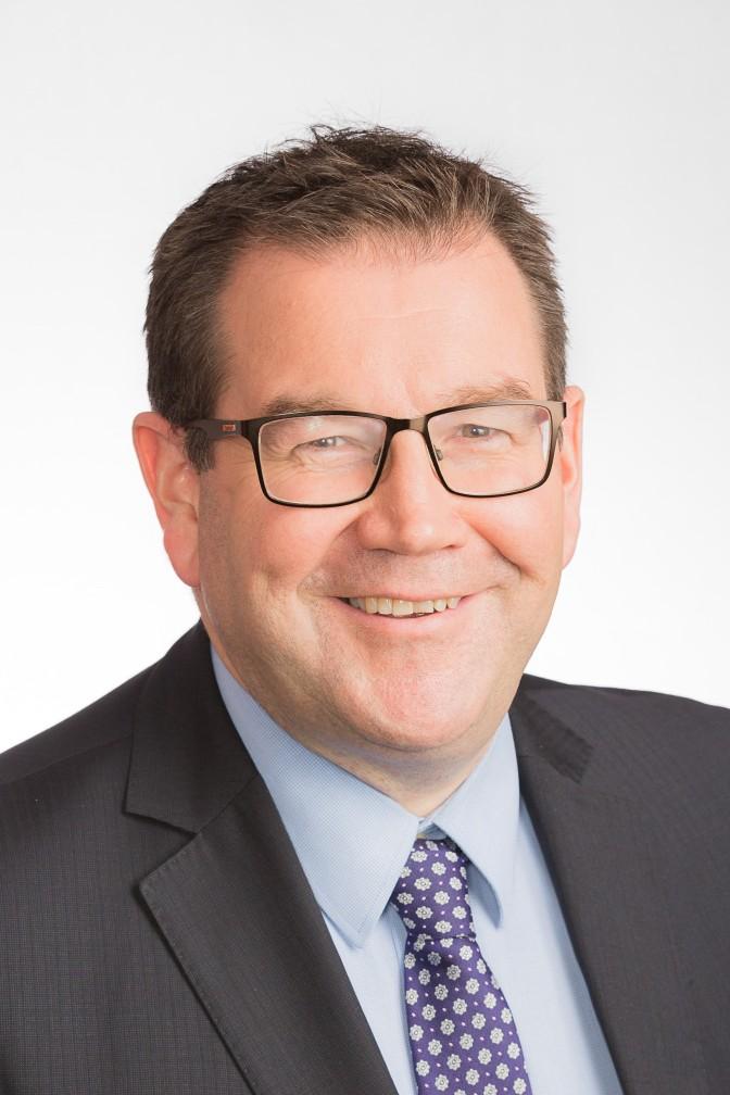 Conference speaker Grant Robertson